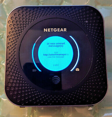 NETGEAR Nighthawk MR1100 LTE Mobile Hotspot Router AT&T Great Condition