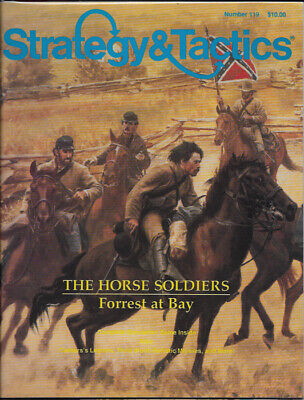 S&T 119 The Horse Soldiers: Forest at Bay - Unpunched - Strategy and Tactics