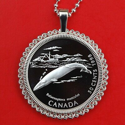 Blue Whale R42 925 Sterling Silver Necklace 16,18,20,26,30