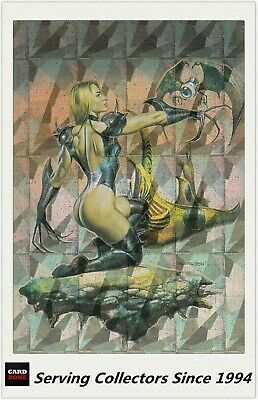 1996 Comic Images Fantasy Art Trading Card Boris With Julie Megachrome Card M3