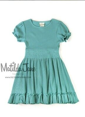 Matilda Jane VAULT Island Waters lap dress, HTF NWT, FALL, 8!