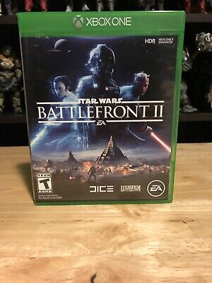 Star Wars Battlefront 2 Xbox One Used Excellent Condition EA Microsoft 2017