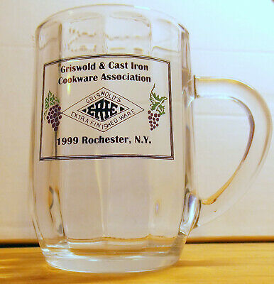 Griswold Cast Iron Cookware Glass Coffee Mug