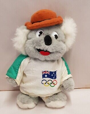 Willy the Koala Australian Mascot from the Seoul 1988 Olympic Games Plush Toy