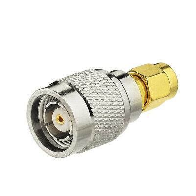 SMA Plug Male to RP-TNC Male Plug straight connector for Wireless Adapter