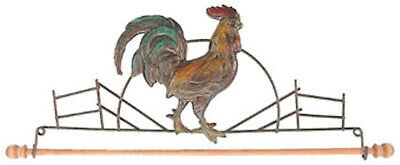 "NEW 12"" Ackfeld Mini Rooster Wire Quilt Holder (cost + Postage SALE)"