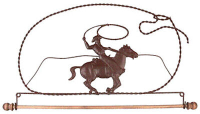 "NEW 12"" Mini Cowboy Wire Quilt Holder (cost + Postage SALE)"