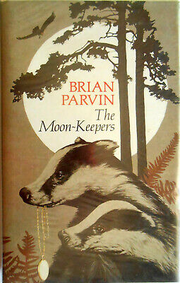 BRIAN PARVIN – The Moon-Keepers – SCARCE FIRST EDITION