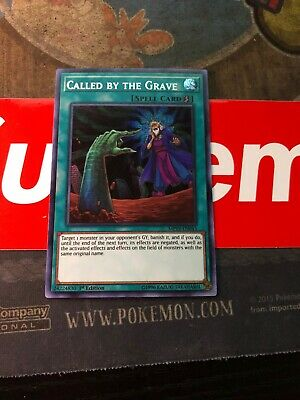 ***Called By The Grave*** Mp19-En043 Prismatic Secret Rare Yugioh In Hand