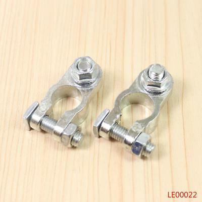 2pcs Heavy Duty Battery Terminal Quick Connector Cable Clamp Clip Universal Car