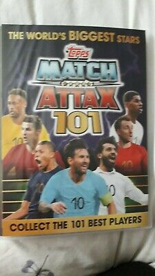 Match Attax 101 Complete Album Including All Limited Edition Cards