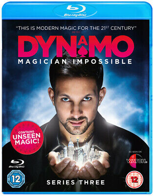 Dynamo - Magician Impossible: Series 3 Blu-ray (2013) Dynamo cert 12 Great Value