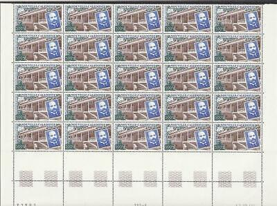 New Caledonia Berheim Library Half-Sheet of 25v MNH SG#1212 MI#1217