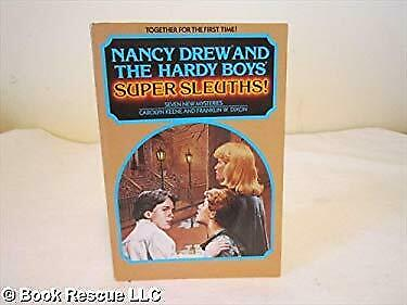 Nancy Drew and the Hardy Boys Super Sleuths : Seven New Mysteries-ExLibrary