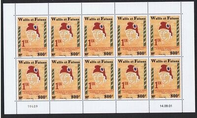 Wallis and Futuna Mediator of the Republic 1v Full Sheet of 10 stamps MNH SG#788