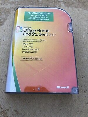 Microsoft Office Home And Student 2007 Full Version Genuine With Product Key