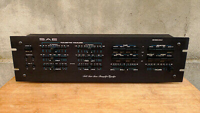 RARE SAE 2900 Parametric Equalizer Preamplifier FUL REVISED
