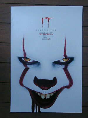 "It Chapter Two Original Movie Poster 11 1/2"" X 17"" Brand New Rolled Cinemark Xd"