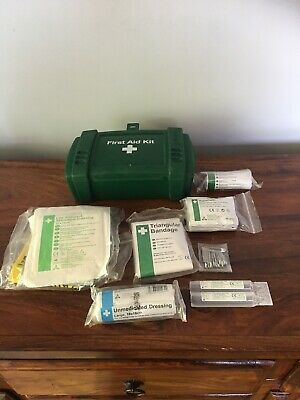First Aid Vehicle Kit box Evolution series With Contents Shown