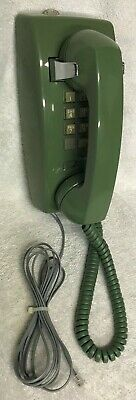 RARE 1960s WESTERN ELECTRIC 1554B GREEN AVOCADO 10 Key Push Button Wall Phone