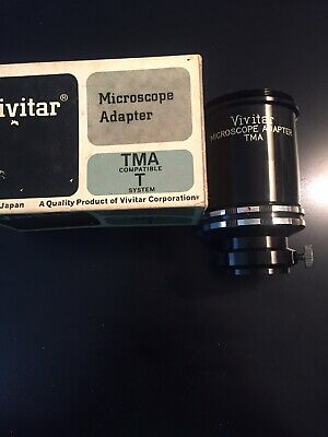 Vivitar Camera To Microscope Adapter