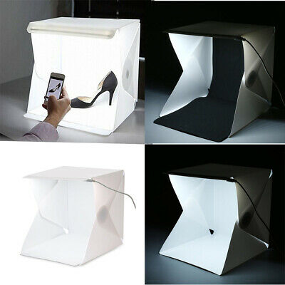Folding Light Room Mini Photo Studio Photography Lighting Tent Kit Backdrop Cube