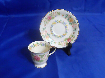 Dolly Vardon by Rosenthal Demitasse Cup & Saucer - Continental Ivory, Floral