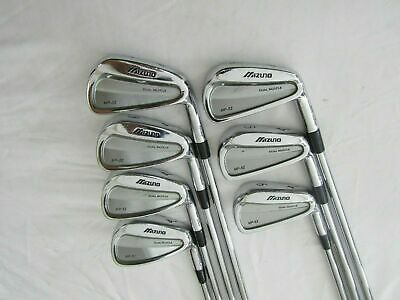 Mizuno MP-52 Forged 4-PW Iron Set - Project X 5.5 Firm flex Steel Irons Used RH