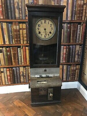 International Time Recording Company Ltd clocking in machine antique