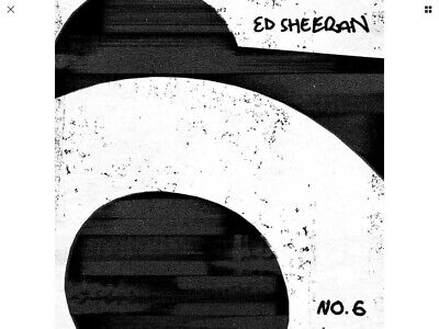ED SHEERAN No.6 COLLABORATIONS PROJECT CD (Released JULY 12 2019) BRAND NEW
