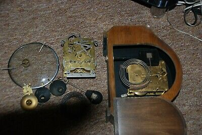 Clock movements x2  for spares or repair one still in case