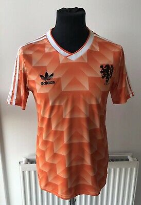 Netherlands Holland Adidas Euro 1988 Replica Home Shirt Size Small