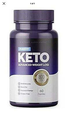 PUREFIT KETO ADVANCED WEIGHT LOSS (60 Capsules)  NEXT DAY DELIVERY