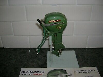 Toy Outboard Motor 1954 Johnson By K&O Battery Operated Boat Fleet Line Ito