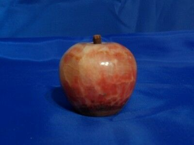 Vtg Original ITALIAN ALABASTER MARBLE Apple