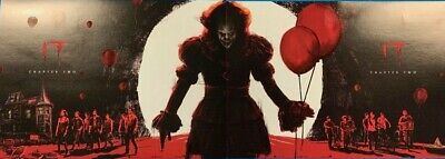 IT Chapter Two Posters - Odeon Cinemas Exclusive - A4 Size BOTH PARTS - CHEAPEST