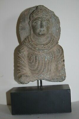 Ancient Indo Greek Buddhist  Buddha  Bust 200/400 Ad