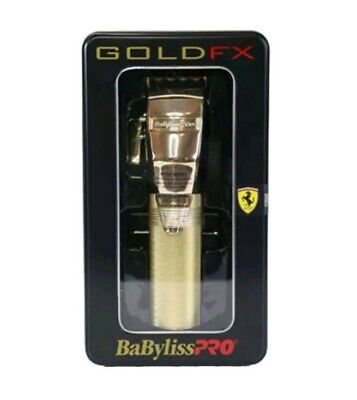 Babyliss Pro FX870G Cordless Lithium-Ion Adjustable Clipper - Gold