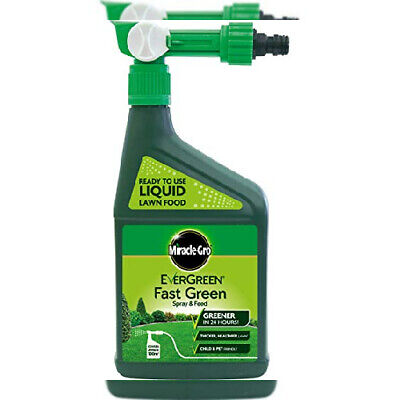 Scotts Miracle-Gro evergreen spray and feed lawn food greens your food, 1 L