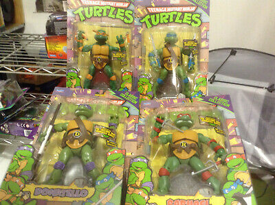 TMNT Teenage Mutant Ninja Turtles Classic Collection 2012 SET Of 4 MINT IN BOXES