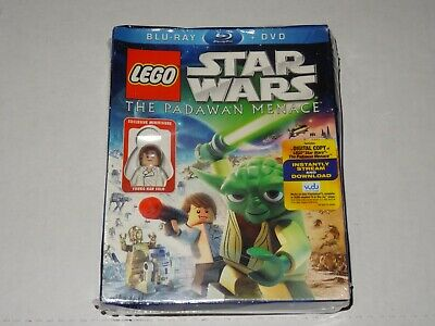 Lego Star Wars  Blue Ray, Dvd, The Padawan Menace ( Sealed ) Young Han Solo