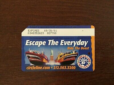 Metrocard ESCAPE THE EVERYDAY expired W/ no value collectible