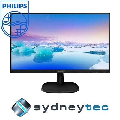 New Philips V-Line 273V7QDAB 27in Full HD IPS LED Monitor with Speakers