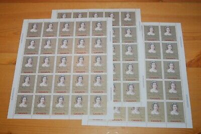 Weeda Canada 621/iii VF MNH panes of 25 on DF, F and MF papers CV $175.60