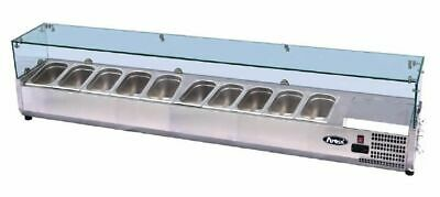 Sandwich Prep Top 2000mm Atosa Fits GN 1/4 Chilled Pizza Salad Wrap Take Away