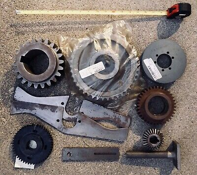 Industrial Machine Gear Wheel Pulley Lot Steampunk Lamp Base Parts (Lot#2)