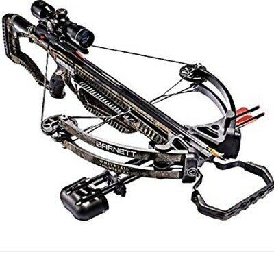 New Barnett Whitetail Hunter II Crossbow Package With Scope