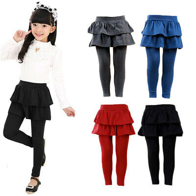 Baby Pants Kids Leggings Skirted pants Skirted leggings Pantskirt Kids Baby 2019