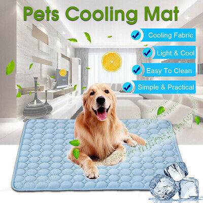 Sleeping Dog Cooling Mat Pet Cat Accessories Summer Chilly Portable Non-toxic