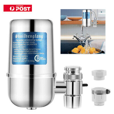 NEW Tap Faucet Water Filter Purifier System Kitchen Faucet Mount Cleaner AU